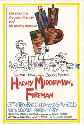 Harvey Middleman, Fireman - 27 x 40 Movie Poster - Style A