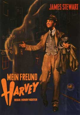 Harvey - 27 x 40 Movie Poster - German Style A
