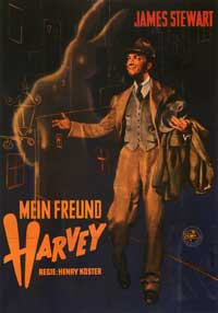 Harvey - 11 x 17 Movie Poster - German Style A