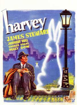 Harvey - 11 x 17 Movie Poster - Belgian Style A