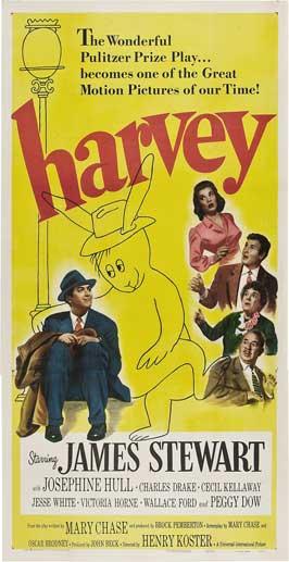 Harvey - 11 x 17 Movie Poster - Style C