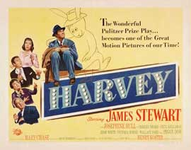 Harvey - 22 x 28 Movie Poster - Half Sheet Style B