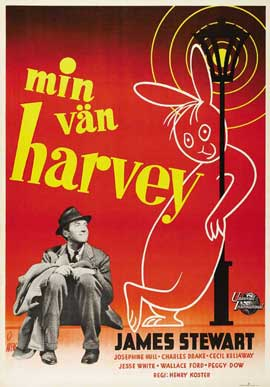 Harvey - 11 x 17 Movie Poster - Swiss Style A