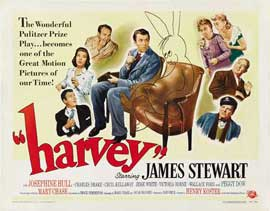 Harvey - 22 x 28 Movie Poster - Half Sheet Style C