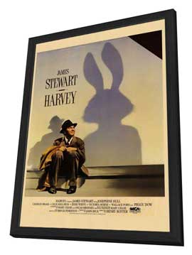 Harvey - 27 x 40 Movie Poster - Style A - in Deluxe Wood Frame