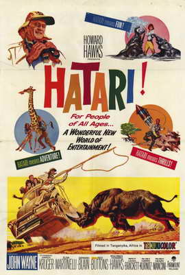 Hatari! - 11 x 17 Movie Poster - Style A