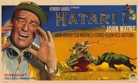 Hatari! - 11 x 17 Movie Poster - Danish Style A