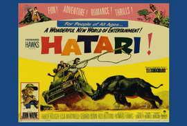 Hatari! - 27 x 40 Movie Poster - Style B