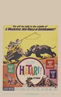 Hatari! - 27 x 40 Movie Poster - Style C