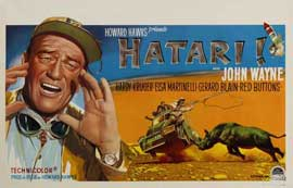 Hatari! - 11 x 17 Movie Poster - Belgian Style B