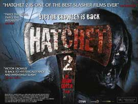 Hatchet 2 - 11 x 17 Movie Poster - UK Style A