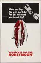 Hatchet for the Honeymoon - 11 x 17 Movie Poster - Style A