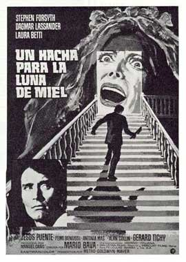 Hatchet for the Honeymoon - 11 x 17 Movie Poster - Spanish Style A