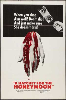 Hatchet for the Honeymoon - 27 x 40 Movie Poster - Style A