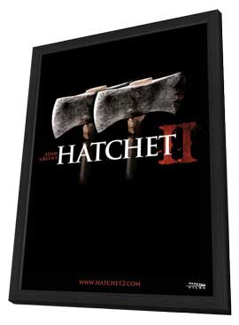 Hatchet II - 11 x 17 Movie Poster - Style A - in Deluxe Wood Frame