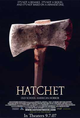 Hatchet - 11 x 17 Movie Poster - Style A