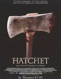 Hatchet - 43 x 62 Movie Poster - Bus Shelter Style A