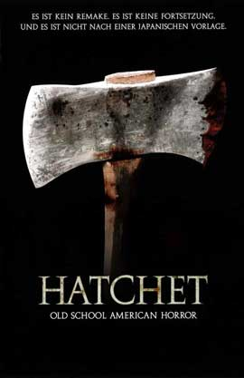 Hatchet - 11 x 17 Movie Poster - German Style A