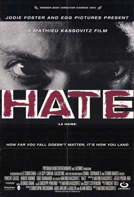 Hate - 11 x 17 Movie Poster - Style A