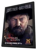 Hatfields & McCoys (TV) - 11 x 17 TV Poster - Style A - in Deluxe Wood Frame
