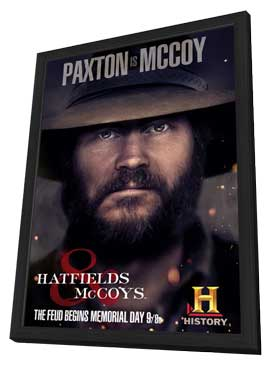 Hatfields & McCoys (TV) - 11 x 17 TV Poster - Style B - in Deluxe Wood Frame