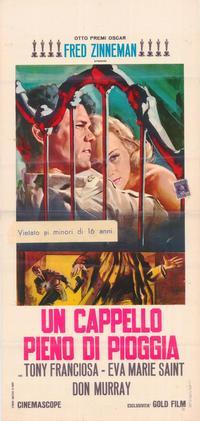 Hatful of Rain - 27 x 40 Movie Poster - Italian Style A