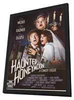 Haunted Honeymoon - 11 x 17 Movie Poster - Style A - in Deluxe Wood Frame