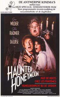 Haunted Honeymoon - 11 x 17 Movie Poster - Belgian Style A