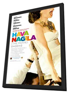 Hava Nagila: The Movie - 27 x 40 Movie Poster - Style A - in Deluxe Wood Frame
