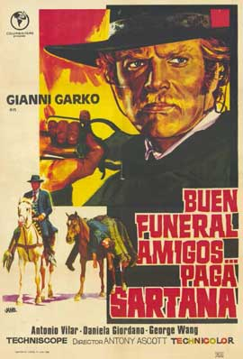 Have a Good Funeral, My Friend... Sartana Will Pay - 11 x 17 Poster - Foreign - Style A