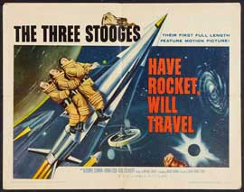 Have Rocket, Will Travel - 27 x 40 Movie Poster - Style A