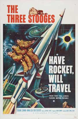 Have Rocket, Will Travel - 27 x 40 Movie Poster - Style B