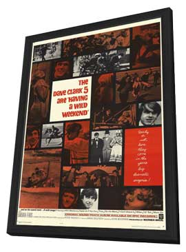 Having a Wild Weekend - 11 x 17 Movie Poster - Style A - in Deluxe Wood Frame