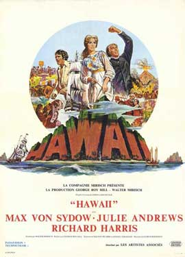 Hawaii - 11 x 17 Movie Poster - French Style A