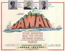 Hawaii - 22 x 28 Movie Poster - Half Sheet Style A