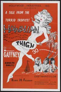HAWAIIAN THIGH - 43 x 62 Movie Poster - Bus Shelter Style A