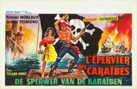 Hawk of the Caribbean - 27 x 40 Movie Poster - Belgian Style A