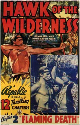 Hawk of the Wilderness - 11 x 17 Movie Poster - Style B