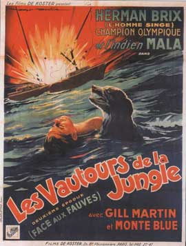 Hawk of the Wilderness - 11 x 17 Movie Poster - French Style A