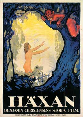 Haxan: Witchcraft Through the Ages - 11 x 17 Movie Poster - Swedish Style A