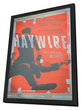 Haywire - 27 x 40 Movie Poster - Style A - in Deluxe Wood Frame