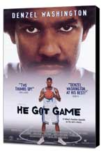 He Got Game - 27 x 40 Movie Poster - Style B - Museum Wrapped Canvas