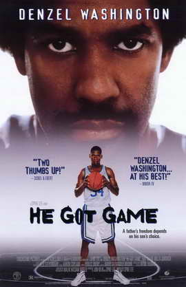 He Got Game - 11 x 17 Movie Poster - Style B