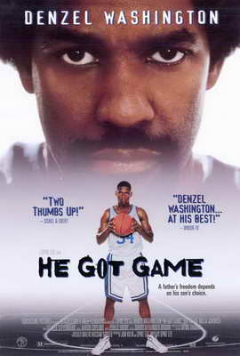 He Got Game - 27 x 40 Movie Poster - Style B