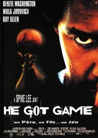 He Got Game - 11 x 17 Movie Poster - French Style A