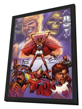 He-Man and She-Ra: A Christmas Special - 11 x 17 Movie Poster - Style B - in Deluxe Wood Frame