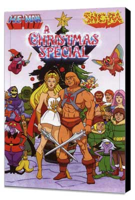 He-Man and She-Ra: A Christmas Special - 27 x 40 Movie Poster - Style A - Museum Wrapped Canvas