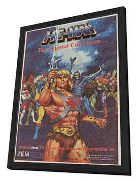 He-Man and the Masters of the Universe (TV) - 11 x 17 Movie Poster - Style B - in Deluxe Wood Frame