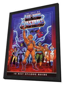 He-Man and the Masters of the Universe (TV) - 27 x 40 TV Poster - Style A - in Deluxe Wood Frame