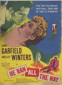 He Ran all the Way - 11 x 17 Movie Poster - Style A
